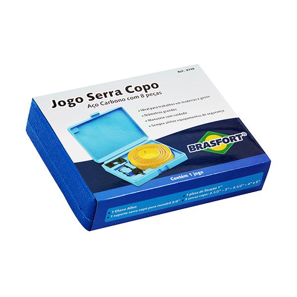JOGO DE SERRA COPO COM ESTOJO