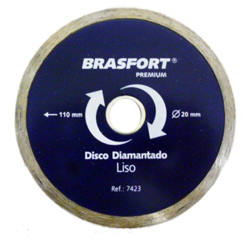 DISCO DIAMANTADO LISO PREMIUM