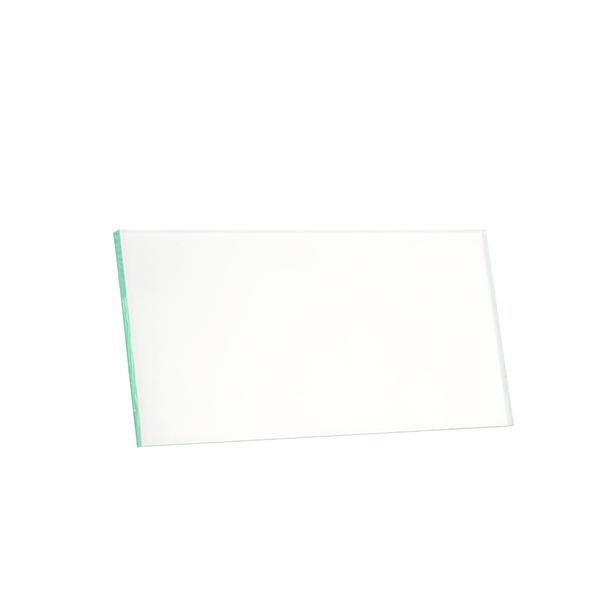 Vidro Retangular Transparente para Máscara